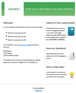 download free email template html email template free email