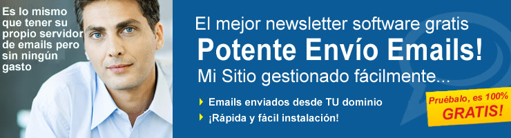 Newsletter Emails: Software gratis para enviar mail y newsletter